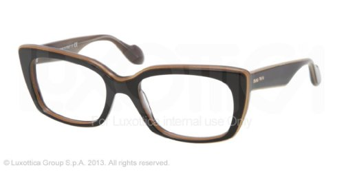 Miu Miu Eyeglasses Miu Miu 0MU 05LV KAY1O1 TOP BLACK ON TRANSP