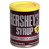 Hershey's Chocolate Syrup tin 453g