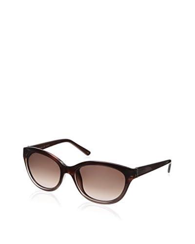 Valentino Women's V636S Sunglasses, Gradient Rust