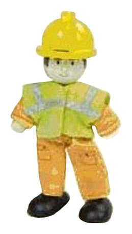 Budkins Charlie The Workman, Orange