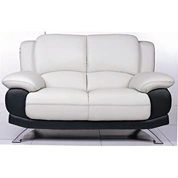BH Design 117 Loveseat - Black