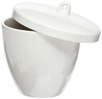 American Educational High Form Porcelain Crucible with Lid