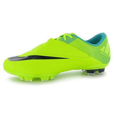 Nike Mercurial Glide II FG Junior Football Boots Voltage/Purple 5 UK UK