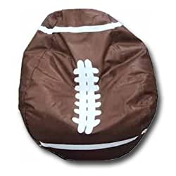 Football Vinyl Bean Bag Chair