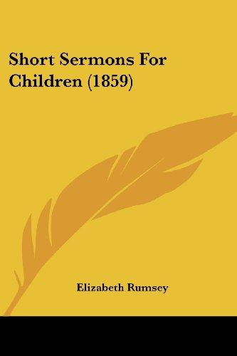 Short Sermons for Children (1859)