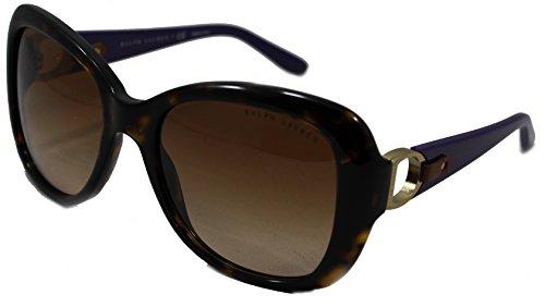 Polo Ralph Lauren RL8108Q Dark Gavaana Butterfly Sunglasses, 500313, 56mm