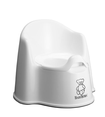 Baby Bjorn® Potty Chair Baby Bjorn Extra Comfort Potty Chair w/ Rubber Grip - White