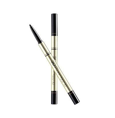 Mistine 3D Brows' Secret Eye Brow Set (3 in 1 Pencil, Shadow, Mascara) (01 Dark brown) (Kat Von D Pen compare prices)