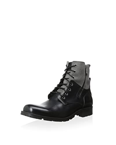 Andrew Marc Men's Vesey Mixed Material Lace-up Boot