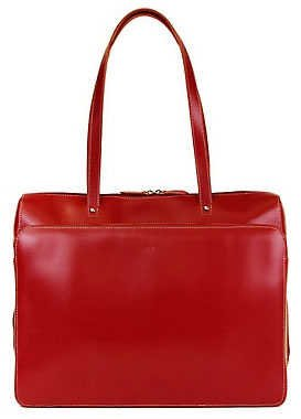Lodis Audrey Collection Leather Checkpoint Friendly Tote Bag