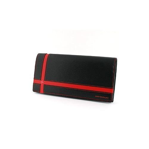 (カステルバジャック)CASTELBAJAC ブローチ 長財布 056616 ブラック 01