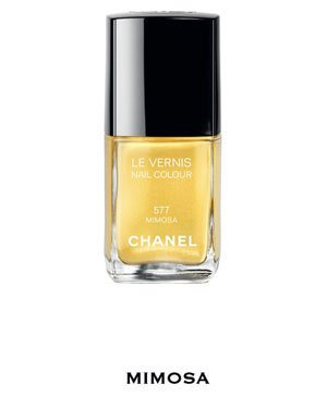 Chanel Le Vernis Nail Colour Mimosa 577 Summer 2011