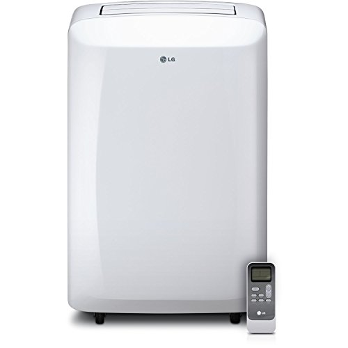 Cyber Monday LG 10,000 BTU 115V Portable Air Conditioner with Remote Control, White for Sale