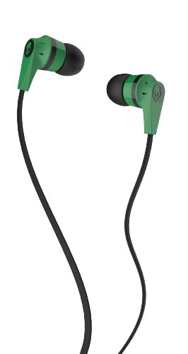 Skullcandy Ink'd 2.0 In-Ear Headphones - Green/Black