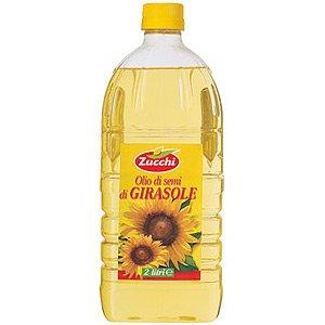 ズッキ ひまわり油 (オーリオ・ディ・ジラソーレ) ペットボトル 2L