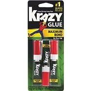 Elmer's Prod. KG48812 Krazy Glue Maximum Bond Super Glue-3PK GEL MAX BOND GLUE