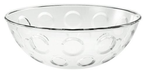 Guzzini GU-2315.30-00 Bolli 12-Inch Bowl, Clear