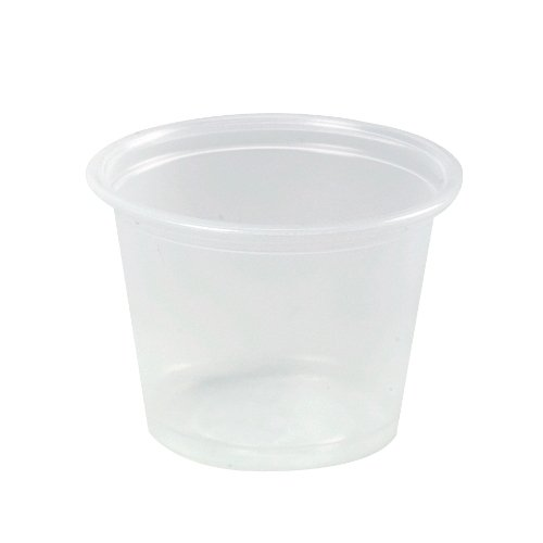 Dart 400PC Conex Complements Portion/Medicine Cups, 4oz, Clear, 125/Bag, 20 Bags/Carton