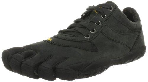 Vibram FiveFingers Trek LS Barefoot Trail Running Shoe (43, Black/Black)