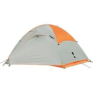 Eureka Taron 2 Person Tent Orange Popsicle/Mineral Grey