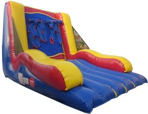 Inflatable Bouncy Interactive Velcro Wall Includes 1.0 Hp Blower and Free Shipping