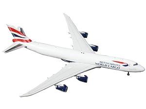 Gemini Jets British Airways Cargo B747-8F 1:400 Scale Airplane Model