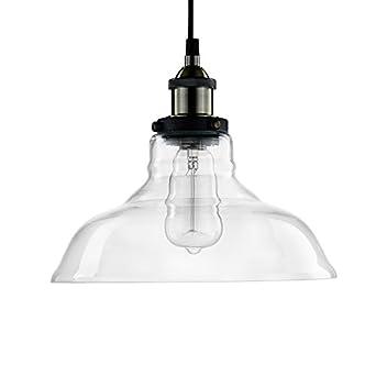 YOBO Decke Hängeleuchte Quelle Anlage Industrie Edison Design Nostalgie  Glas Für E27 Lampe Licht