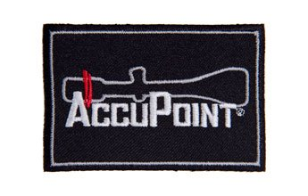 Ap56: Velcro Patch - Black - Trijicon Accupoint®