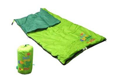 New Gigatent Youth Sleeping Bag Bed Bugs Flower camping/vacation Velcro zipper polyester pack child