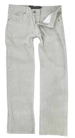 Calvin Klein Jean men's Straight Leg Soft Corduroy Pants (30x32, New Khaki)