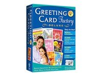 Greeting Card Factory Deluxe - ( v. 8.0 ) - complete package - 1 user - Win GREETING CARD FACTORY DLX 8 DVD Manufacturer Part Number RMWT-NRS
