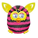 Furby Boom Interactive Toy - Black and Pink Stripes