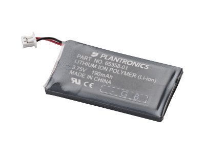 Plantronics - Headset Battery - For Cs 50, 50-Usb, 55, 55H (64399-01) -