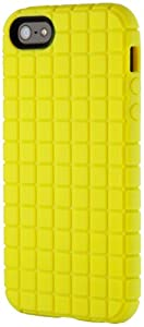 Speck Products PixelSkin Rubberized Case for iPhone 5 & 5S - Retail Packaging - Lemongrass Yellow