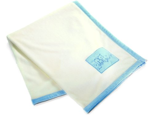 Softshell Cuddly Blanket Blue Steiff