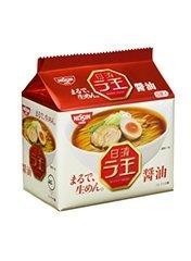 日清 ラ王 袋麺 しょうゆ味 5食パックx6パック ケース