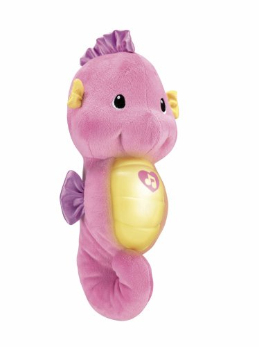 "Fisher Price 900 R5534 ""ocean Wonders"" Soothe And Glow Seahorse Toy"
