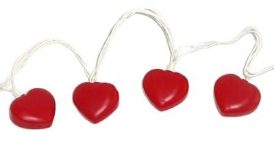 Valentine Heart Shaped String Light Set by OTC