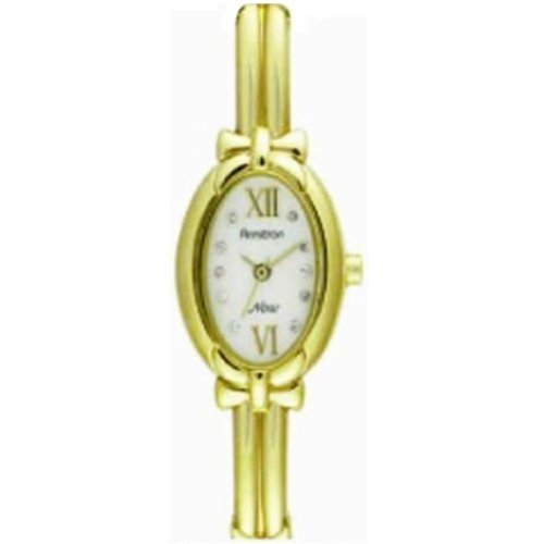 Armitron Ladies NOW Bangle Bracelet Watch Diamond Accent