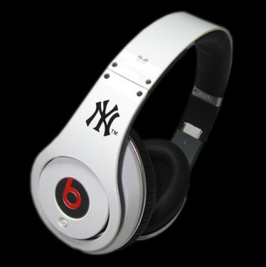 Beats By Dr. Dre Studio Yankees Over Ear Headphone From Monster (Discontinued By Manufacturer)