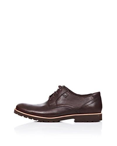 Rockport Zapatos Derby Lh Plaintoe Marrón