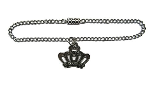 Glamerup: Crown (Antique Silver) Doll Necklace - Handmade to Fit Most 18 inch Dolls