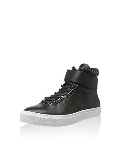 K-Swiss Herren High Court Sneakers, Schwarz (Black/Off White), 43 EU schwarz