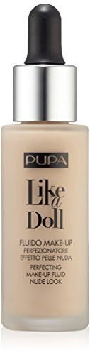 Like a Doll Fondotinta Effetto pelle Nuda Tonalità 010 Porcelain
