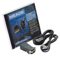 Meade Astrofinder Software & #505 Connector Cable, Connects the Autostar to the ETX90, 105 & 125 Telescopes, for Windows.