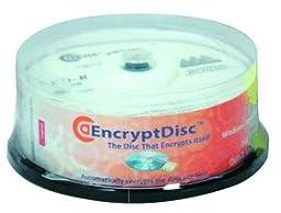 ROCK EDDVDR25 Encrypt Disc Unmanaged DVD 25Pk