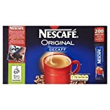 Nescafe Original Decaf Sticks 200s - 200 sachets