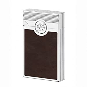 ST Dupont Ligne 2 Liberte Brown Chocolate Leather Lighter