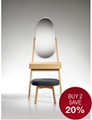 Conran Rendell Dressing Table & Stool Set