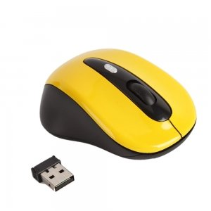 Yellow USB Bluetooth Wireless Optical Laptop Computer Mouse Cordless PC B017FRI4VM